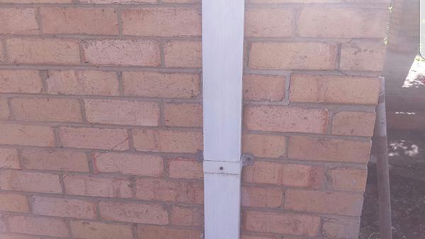 Brick Wall Repair -  after