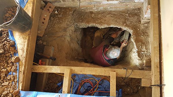 Subfloor repairs